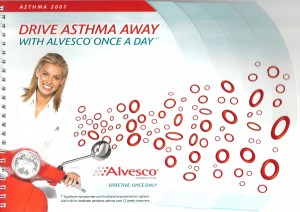 Alvesco sales aid cover