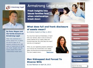 Armstrong Legal blog