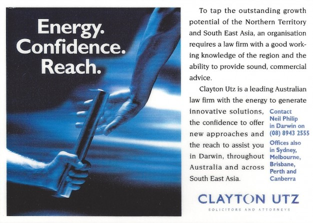 CLAYTON UTZ ADS-1