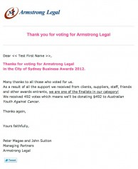 Armstrong Legal EDM2