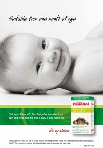 CHILDREN'S PANADOL AD