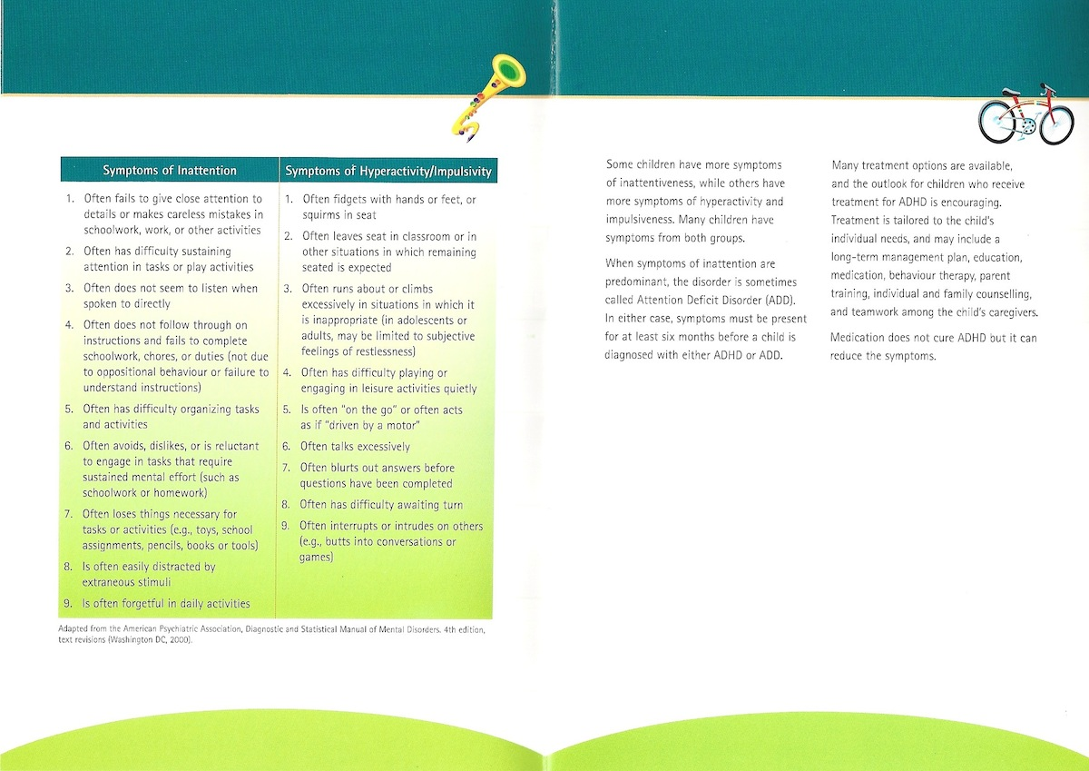 ADHD PATIENT EDUCATION BROCHURE-2